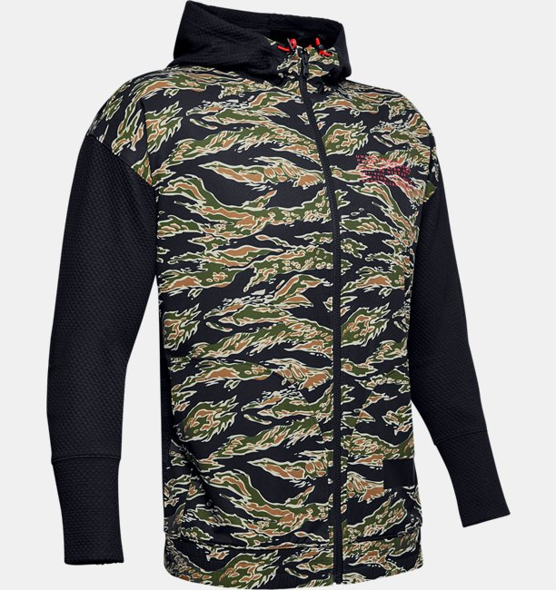 Mens UA Pursuit Full Zip Hoodie