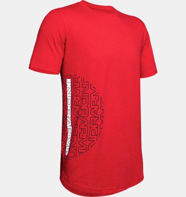 Camiseta de Manga Curta UA Baseline Flip Side Masculina