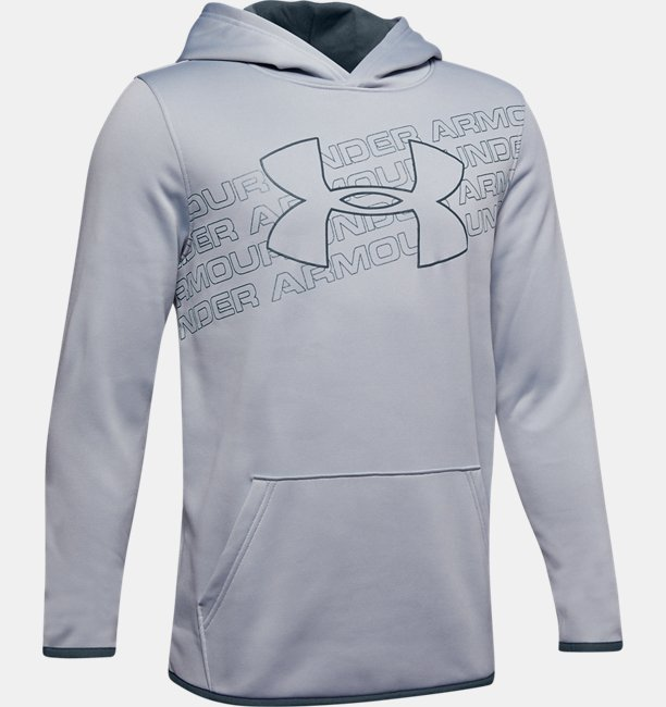 Boys' Armour Fleece® Logo Hoodie
