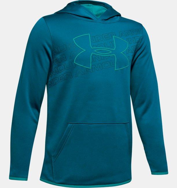 Sudadera con Capucha Armour Fleece® Logo para Niño