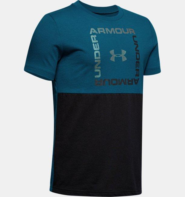 Camiseta de Treino Manga Curta Infantil Masculina Under Armour Sportstyle