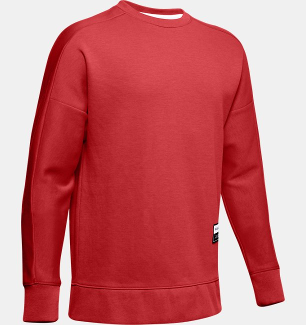 Boys UA Unstoppable Double Knit Crew