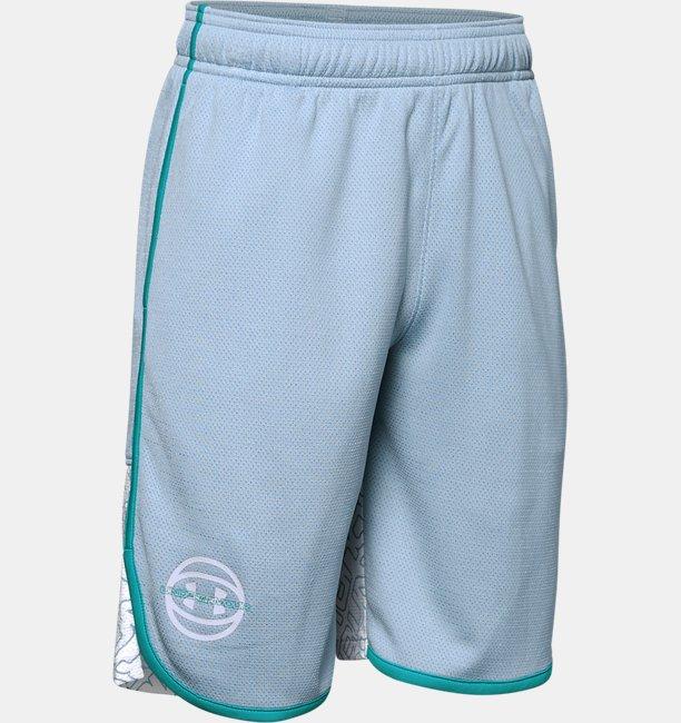 UAベースライン ショーツ(バスケットボール/BOYS)