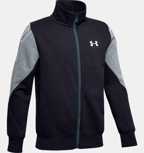 Boys UA Sportstyle Fleece Full Zip