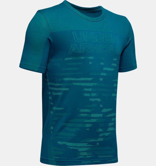 UA シームレス Tシャツ(トレーニング/Tシャツ/BOYS)
