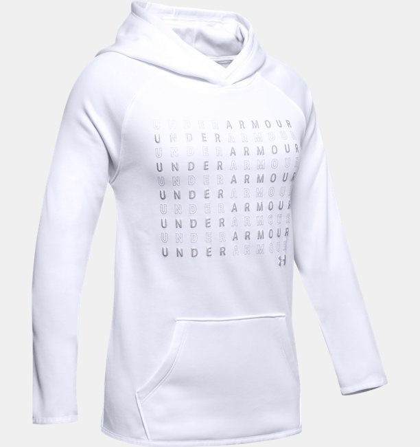 Girls Armour Fleece® Branded Hoodie