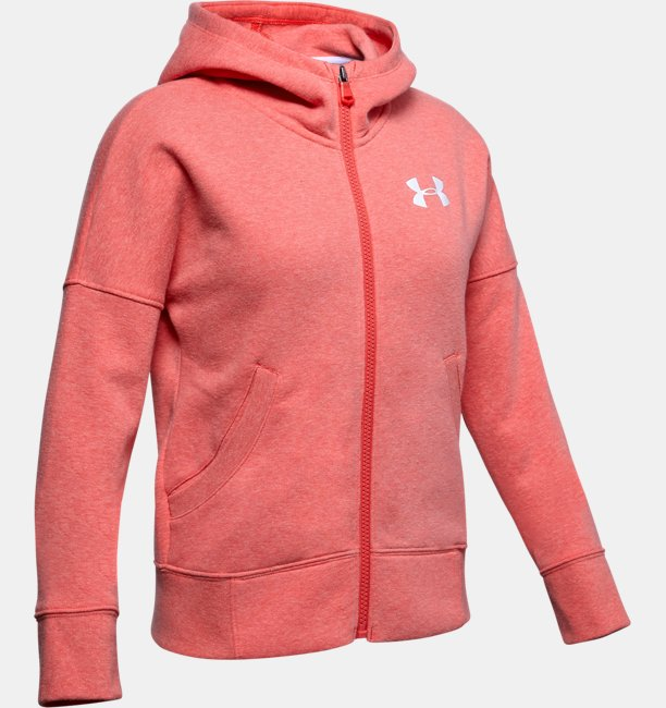 Girls UA Rival Full Zip