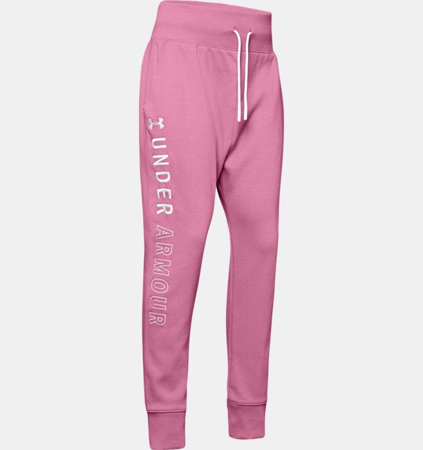 Girls UA Unstoppable Double Knit Slouch Pants