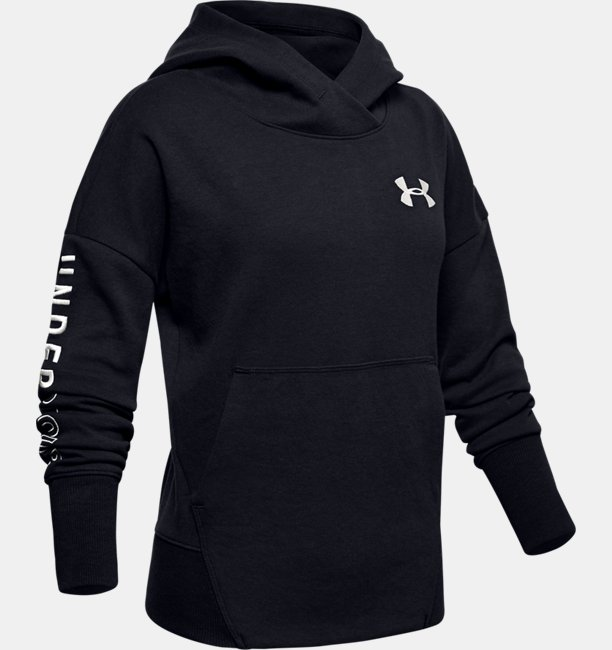 Girls UA Unstoppable Double Knit Hoodie