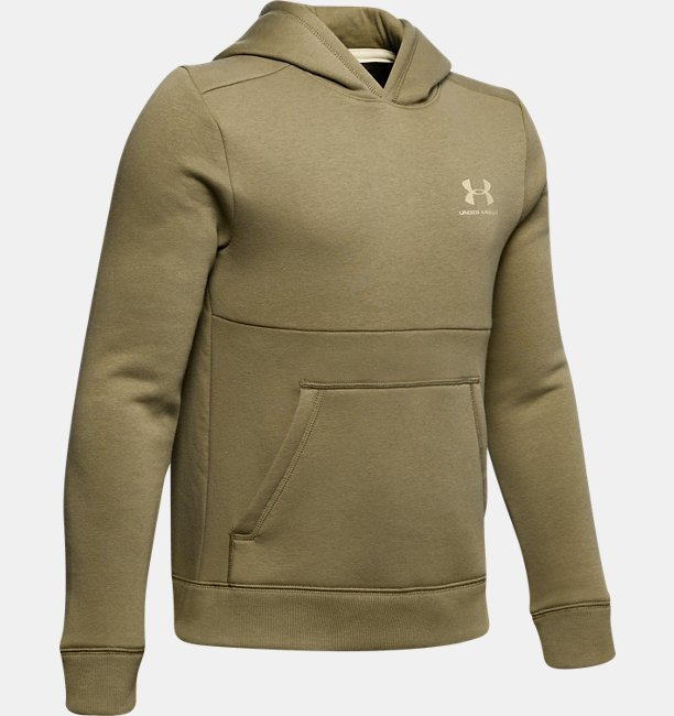 Jongenshoodie UA EU Cotton Fleece