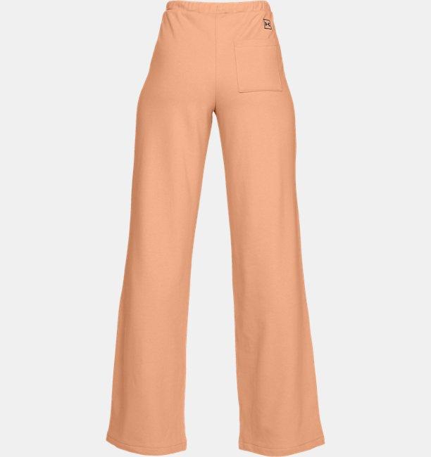 Womens UA Be Seen Terry Wide Leg Pants