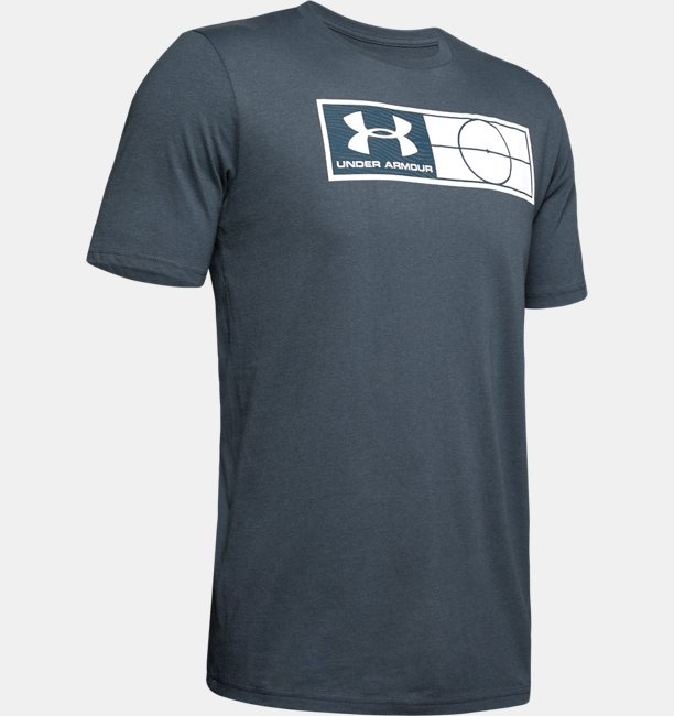 Mens UA Global Football Tag T-Shirt