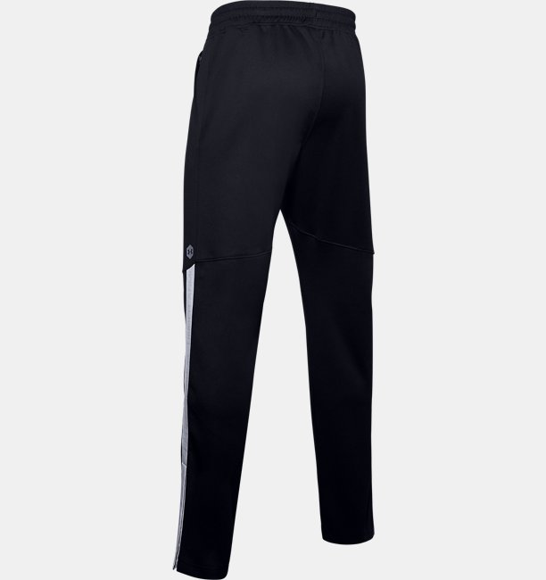 Mens UA Recover Knit Warm-Up Trousers