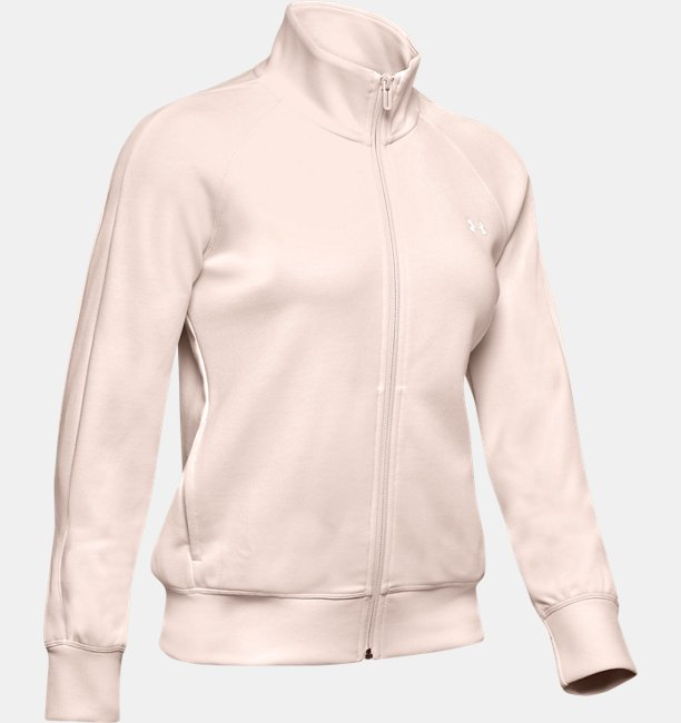 Womens UA Double Knit Track Jacket