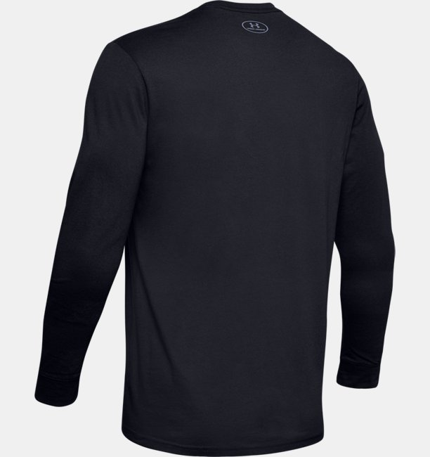 Mens UA Team Stripe Long Sleeve