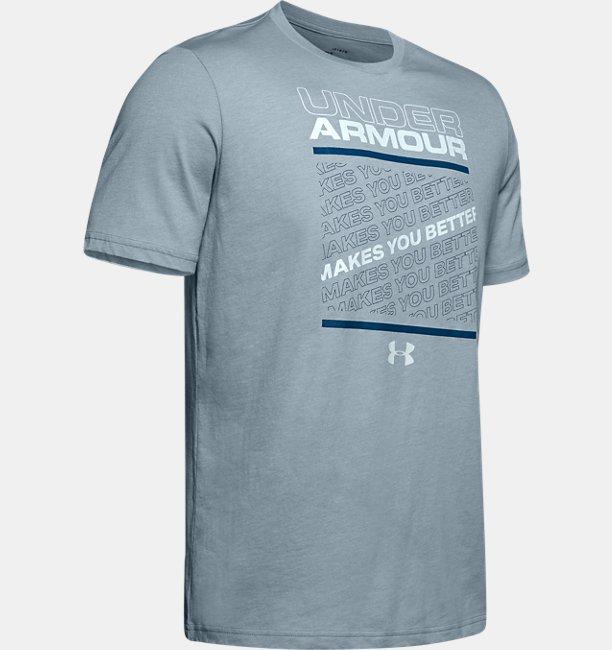 UA Tシャツ<MAKES YOU BETTER>(トレーニング/Tシャツ/MEN)