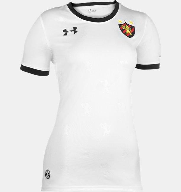 Camisa de Futebol Feminina Under Armour Sport Club do Recife Oficial 18/19