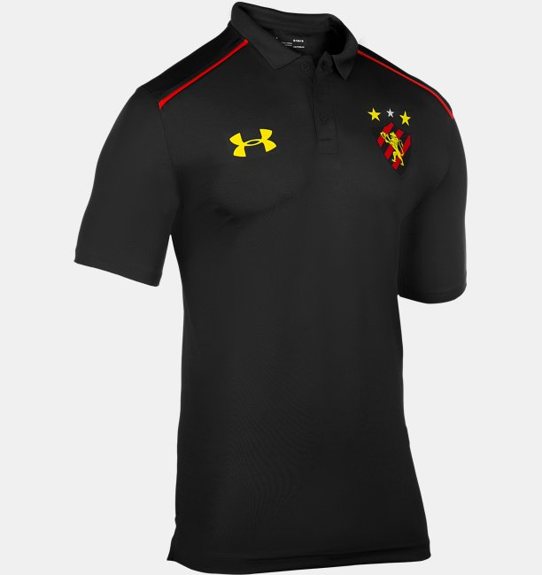 Camisa Polo de Futebol Masculina Under Armour SCR 2018