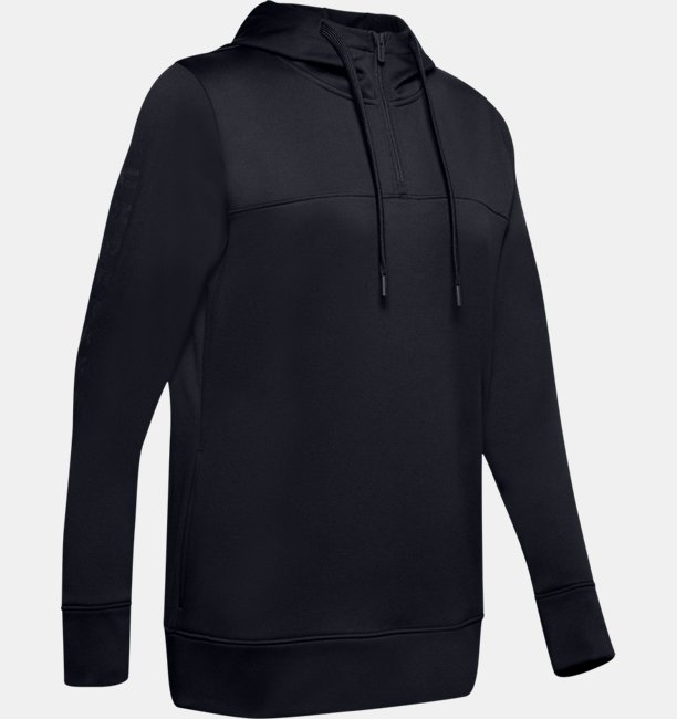 Womens Armour Fleece® Graphic 1/4 Zip Hoodie