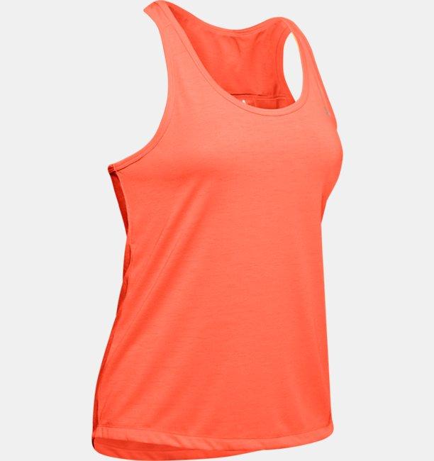 Camiseta sin mangas UA Whisperlight Tie Back para mujer