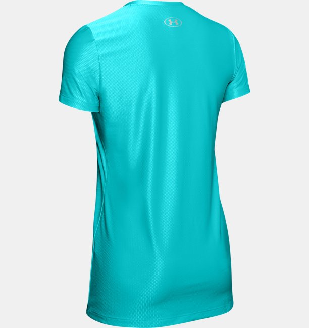 Womens UA Tech™ Short-Sleeve V-Neck Novelty