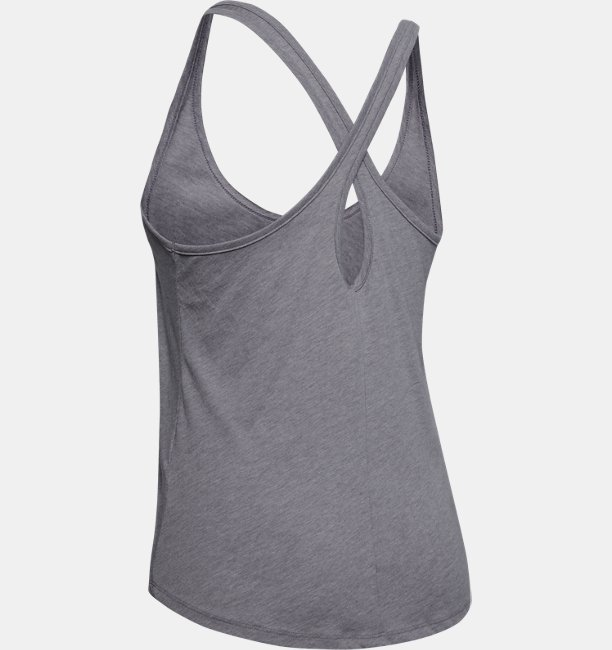 Womens UA Graphic Motion Wave X-Back Tank