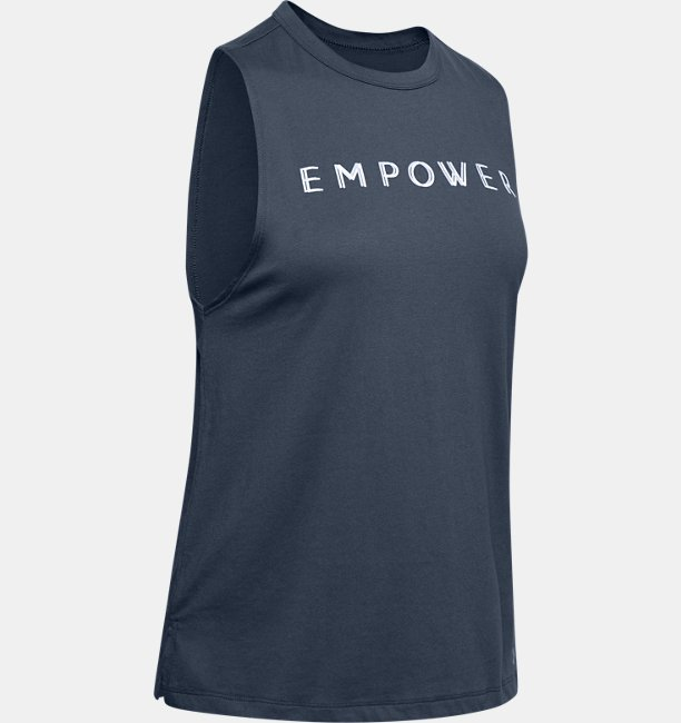 Womens UA Graphic Empower Muscle Tank
