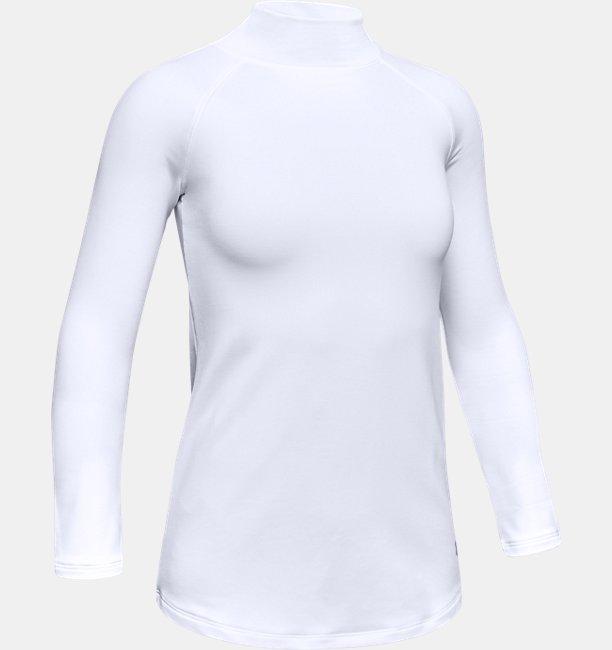 Girls ColdGear® Long Sleeve Mock