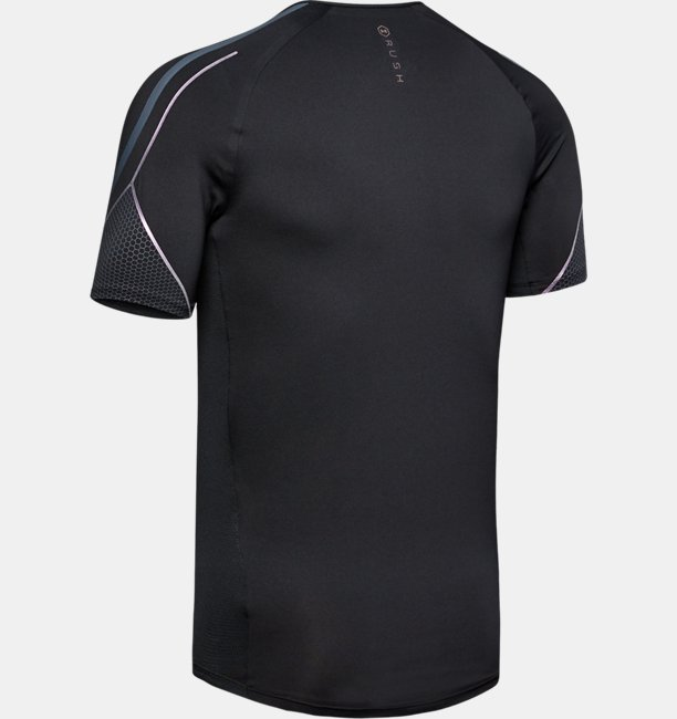 Mens UA RUSH™ Graphic Short Sleeve