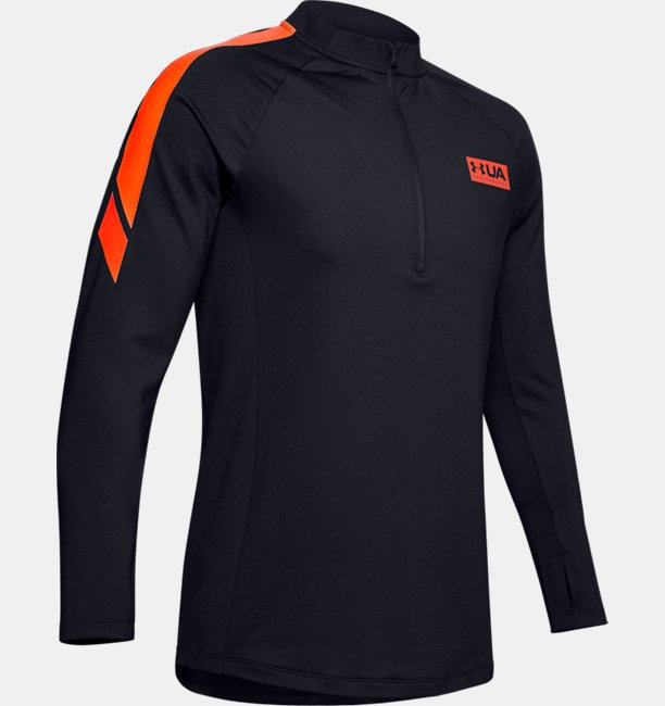 Mens UA Gametime ColdGear® ½ Zip
