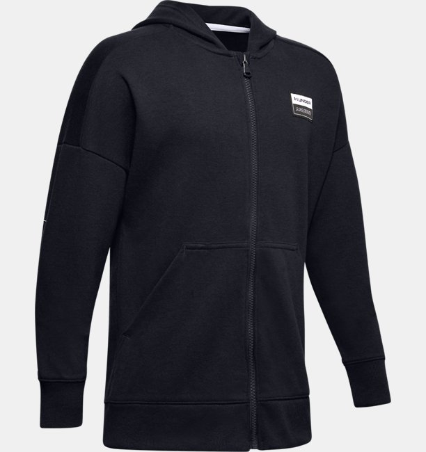 Boys UA Unstoppable Double Knit Full Zip