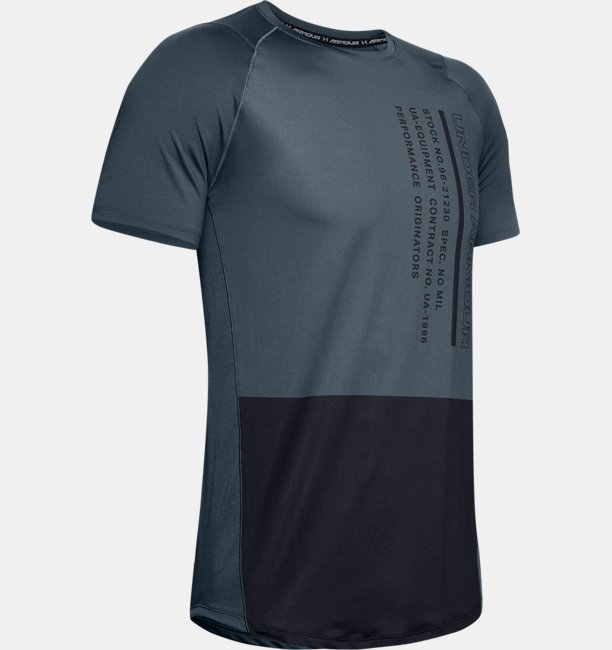 Mens UA MK-1 Colorblock Short Sleeve