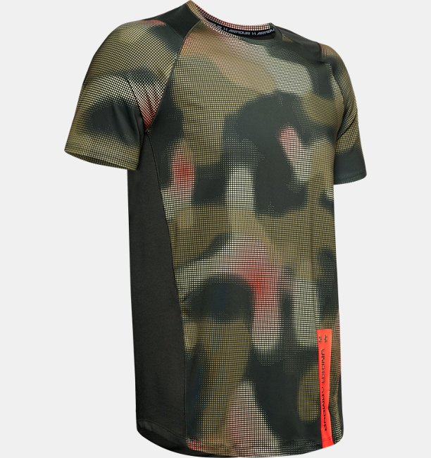 Camiseta de manga corta con estampado UA MK-1 para hombre
