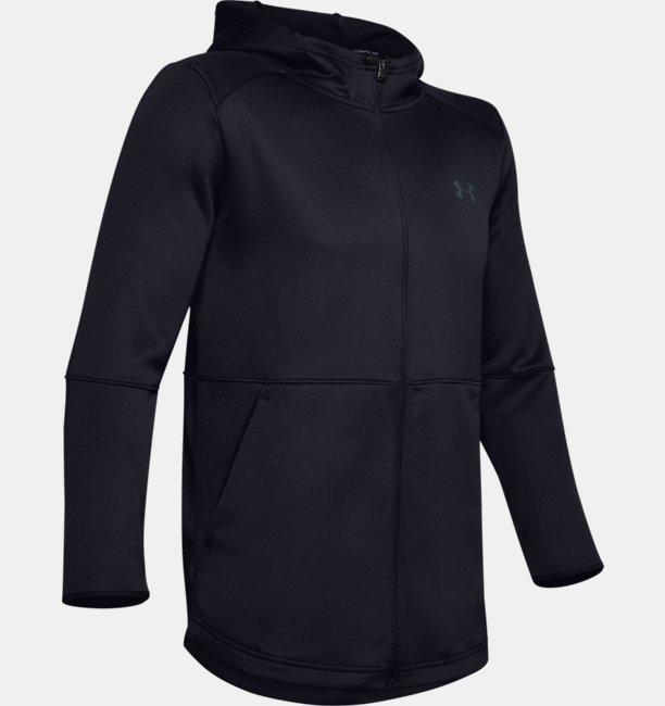 Herren UA MK-1 Aufwärm-Hoodie mit durchgehendem Zip
