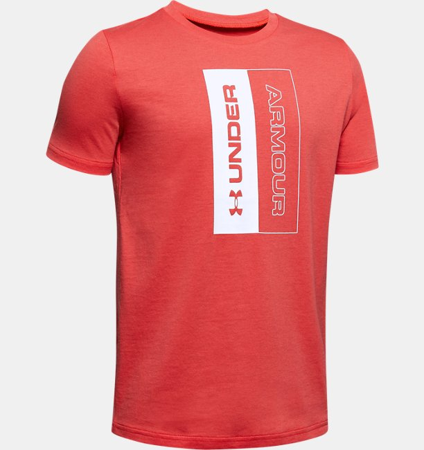 Boys UA Unstoppable Short Sleeve
