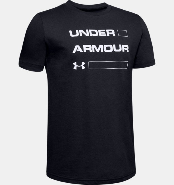 Boys UA Armour Stacked Short Sleeve
