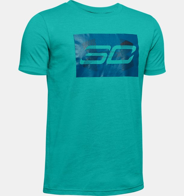 Boys SC30 Branded Short Sleeve