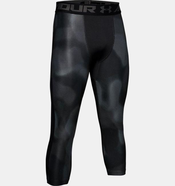 Mens HeatGear® Armour Printed 3/4 Leggings