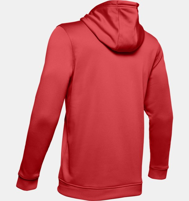 Sudadera con Capucha Armor Fleece® Circle Wordmark para hombre