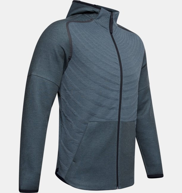 Mens UA Unstoppable Move Light Radial Full Zip