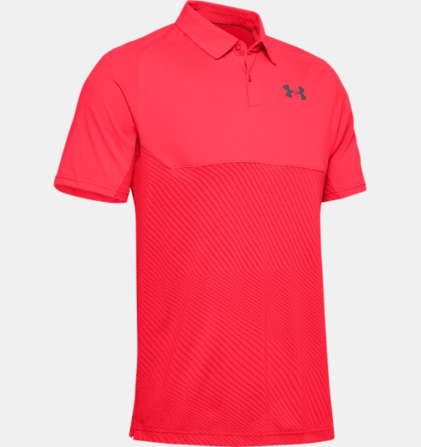 Playera Polo UA Vanish Blocked para Hombre
