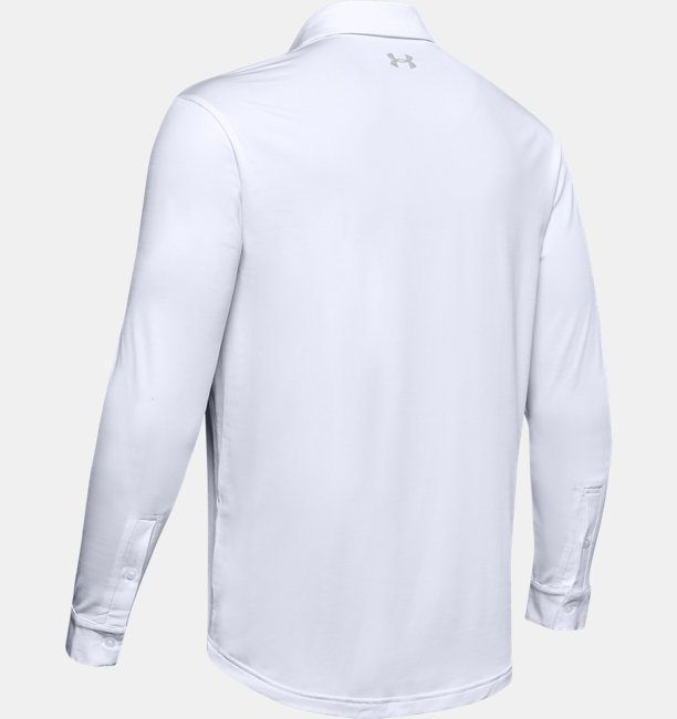 Mens UA Playoff 2.0 Long Sleeve Polo