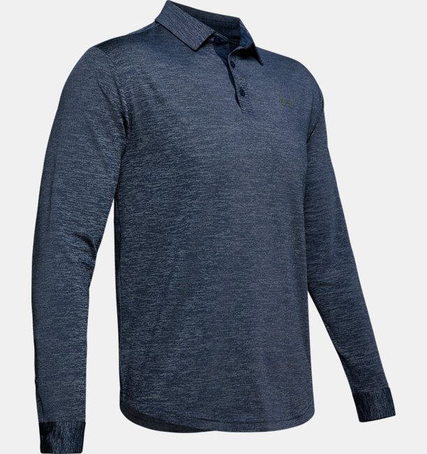 Mens UA Playoff 2.0 Long-Sleeve Polo