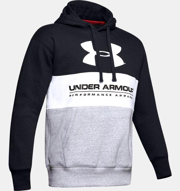 Herenhoodie UA Performance Originators Fleece Logo