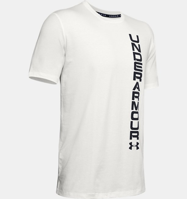 Mens UA Sportstyle Blocked Short Sleeve T-Shirt