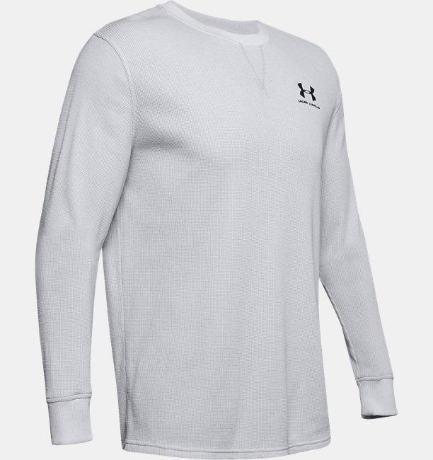 UAスポーツスタイル エッセンシャル テクスチャ― クルー(トレーニング/ロングスリーブ/MEN)