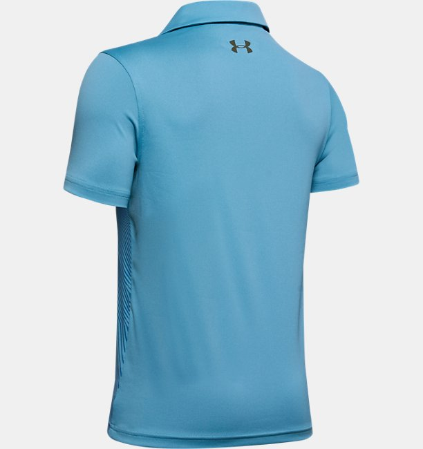 Boys UA Vanish Bunker Polo