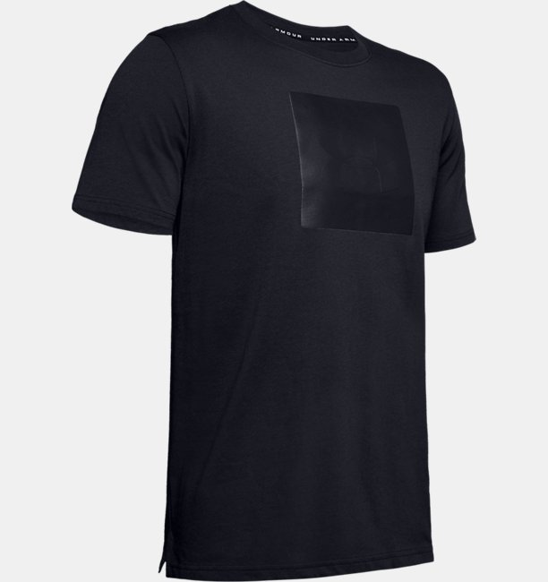 Mens UA Unstoppable Knit T-Shirt