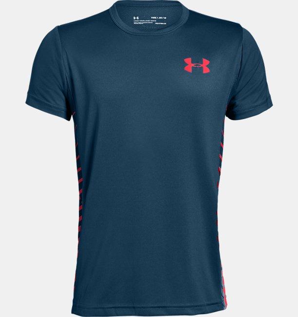 Boys UA MK-1 Short Sleeve Shirt