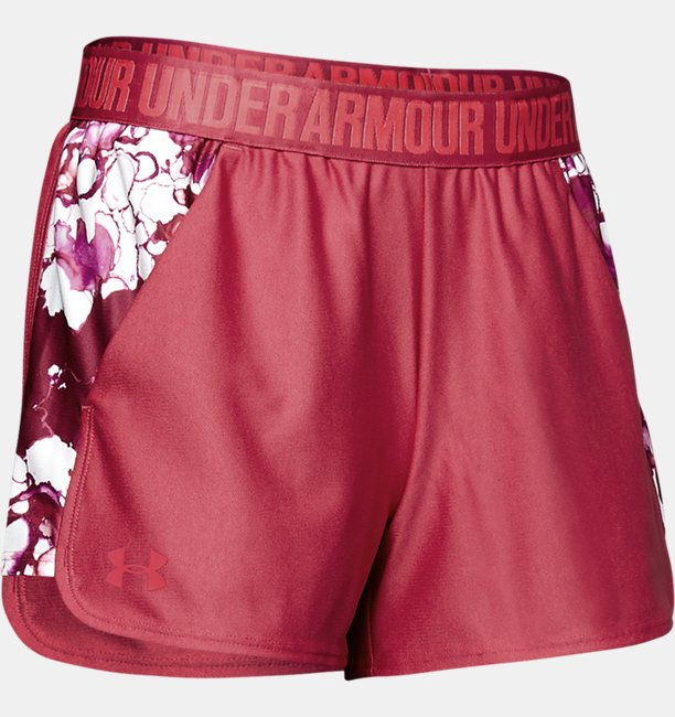 Womens UA Play Up Printed Shorts